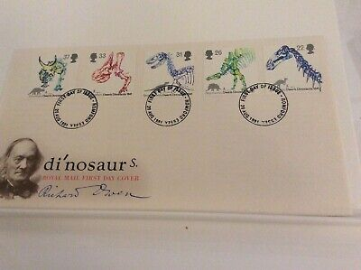 GB  first day cover Richard Owen, Dinosaurs 20.08.1991