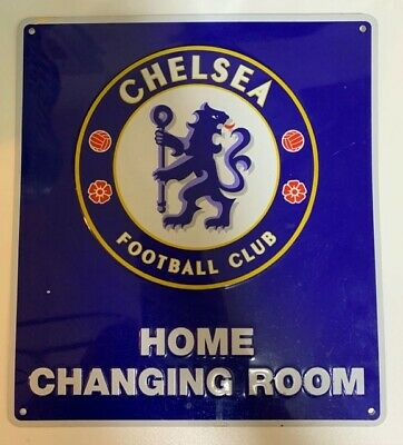 Street Road Sign Novelty Plate Official Chelsea Football Club  Metal Door Sign