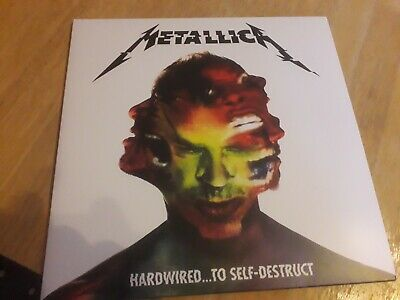 Metallica hardwired to self destruct vinyl