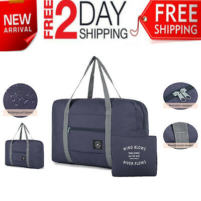 Foldable Portable Travel Luggage Baggage Storage Carry-On Duffle Bag Waterpoof