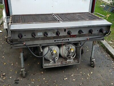 MagiKitchen Magicater commercial propane grill