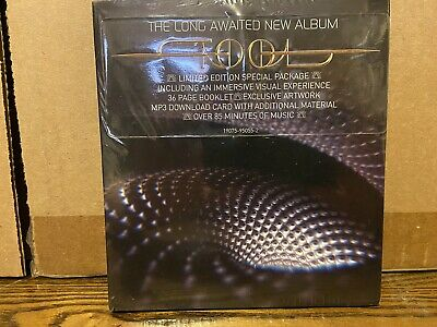 Tool Fear Inoculum 2019 Limited Collectors Edition CD Album HD Screen Sealed New