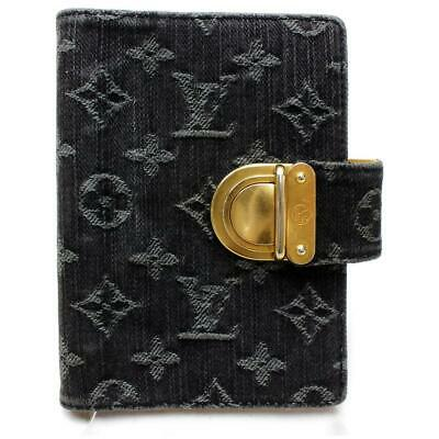 Louis Vuitton Monogram Denim Diary Cover Agenda PM Notebook 872056