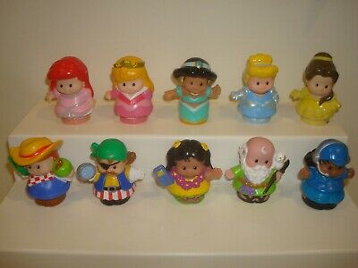 FISHER PRICE LITTLE PEOPLE REPLACEMENT FIGURES X 10 (lot 2)