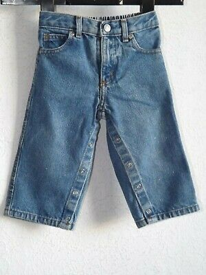 Ralph Lauren Polo jeans Co boys cotton blue denim jeans size L 12  18 month