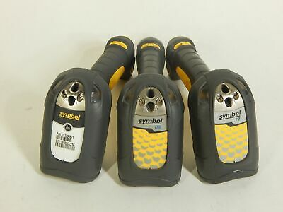 LOT of 3x Symbol Barcode Scanners DS3508 DS3408 LS3408