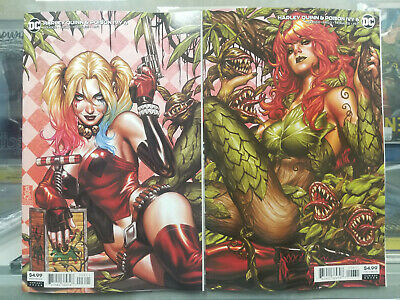 Harley Quinn Poison Ivy #6 Mark Brooks Connecting Variant Set DC Comics 2020