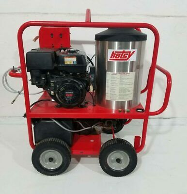 Used Hotsy 1075SSE Gas/Diesel 4GPM @ 3500PSI Hot Water Pressure Washer 102 Hours