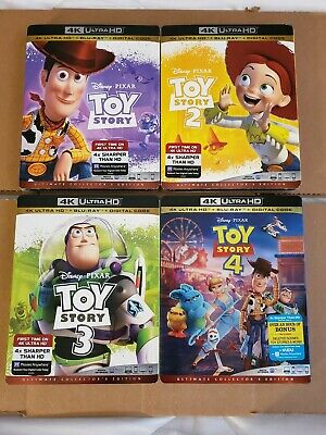 LIKE NEW!! - Toy Story Collection: w/Mint Slipcovers (4K Ultra HD & Blu-ray)