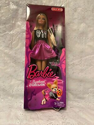 2013 Target Sweetheart Halloween Barbie Doll ~  Mint in the Box!