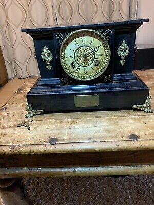 manufactured by the ansonia clock co new york