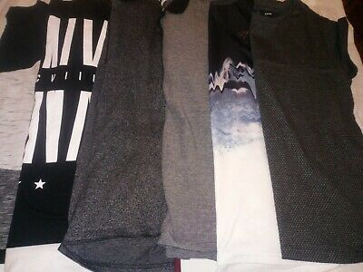 Bundle of boys clothes tops age 11 to 12 years