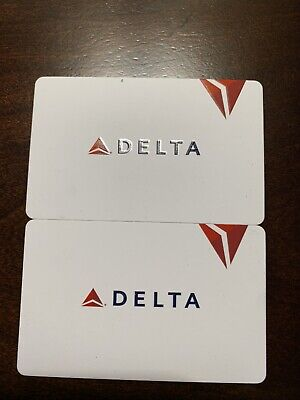 TWO (2)  Delta Airlines $50 GIFT CARDS