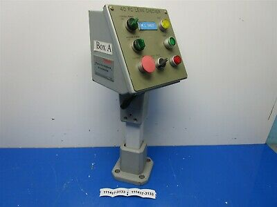 Heavy Duty Pedestal Mounted Operator Control Pushbutton Station Swivels