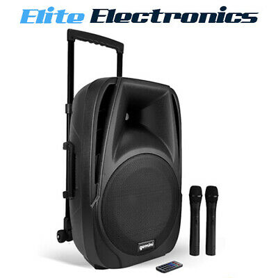 "Gemini 12"" Active 600W Bluetooth Battery PA Loudspeaker ES-12TOGO"