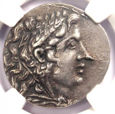 Thrace Odessus Alexander the Great III AR Tetradrachm Coin 125-70 BC - NGC XF