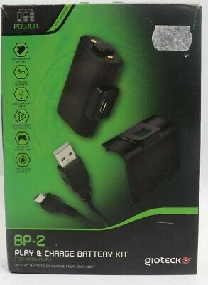 Xbox One Gioteck BP-2 Play and Charge Kit Battery Pack Incl. Charging Cable