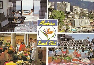 Madeira Beach Club Funchal Multiview Postcard used VGC