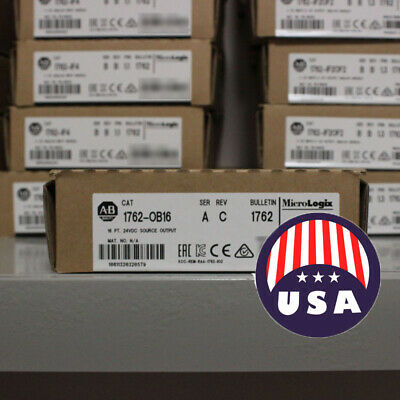 2019 USA STOCK Allen-Bradley 1762-OB16 16 Point 24 VDC Source Output Module
