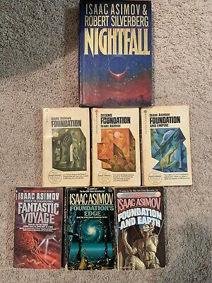 Isaac Asimov foundation trilogy (1966) plus more! Hardcover and collectibles