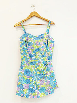 Designer BNWOT Ga Bar New York VTG Size 12 Women's Vintage Swimming Costume
