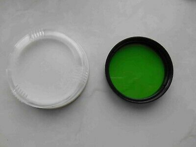 Yellow Green Light filter ЖЗ-2 mount 49 mm in box for russian lens Helios 44-2