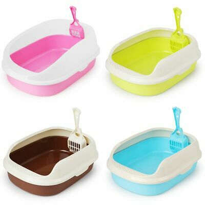 Toilet Bedpan Cat Litter Box Cat Dog Tray Toilet Supply Teddy Anti-Splash P Y2L4