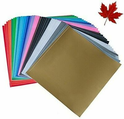 iImagine Vinyl 40-Sheets of Premium Permanent Self Adhesive Vinyl Sheets, 30....