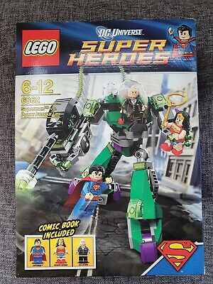 LEGO DC Comics Super Heroes Superman Vs. Power Armour Lex (6862) Brand New