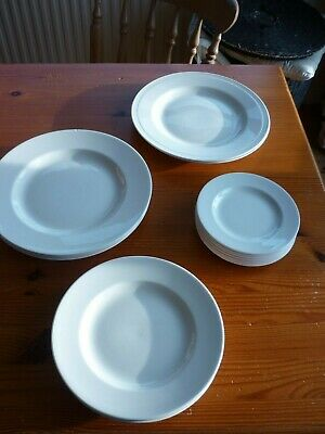 Hartley Greens & Co Leeds Pottery Cream Plates - Choose Your Size