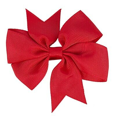 Big Hair Bows Boutique Girls Alligator Clip Grosgrain Ribbon Headband 5 Pcs Z1T9