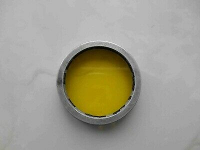 Early yellow light filter FED ЖС-17, M36 for russian cameras Zorki, Industar 22