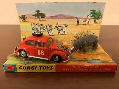 Corci Toys VW 1200 in East African Safari Trim