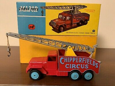 Corgi Toys Major 1121 Chipperfield´s Circus Crane Truck