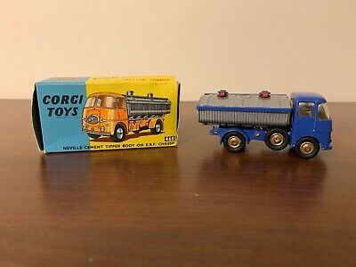 Corgi Toys Neville Cement Tipper Body on E.R.F. Chassis 460