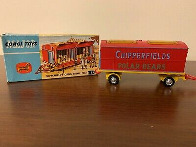 Corgi Toys Major Chipperfields Circus Animal Cage Polar Bears 1123