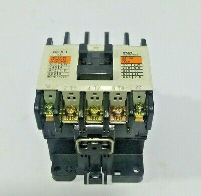 Fuji Electric SC-5-1 Magnetic Contactor