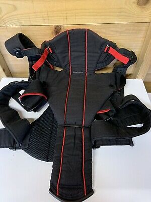 Baby Bjorn Black/Red Baby Carrier