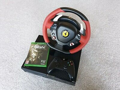 Xbox One Console With Steering Wheel And A Controller + Game