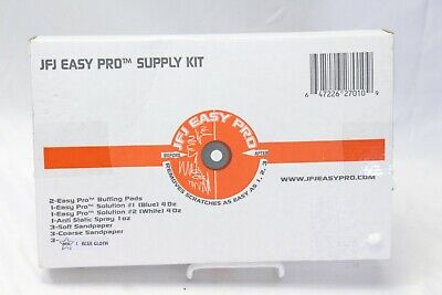 Easy Pro JFJ Disc Supply Kit Repair Pads Solution Sandpaper Cloths Refill New