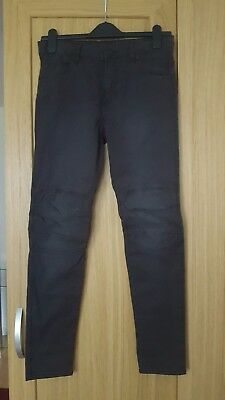 Bnwt New Older Boys H&M Black Trousers Jeans Size 12 13 Years Rrp£18