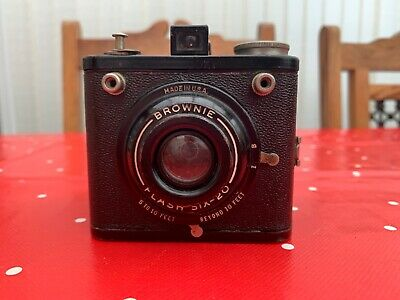 Brownie Flash Six-20, made in the USA