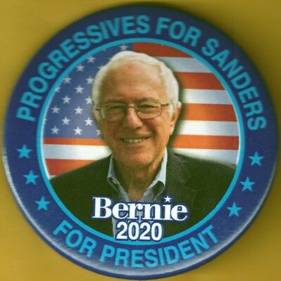 Bernie Sanders  Campaign Button President 2020 Political Pinback 2.25 Inch