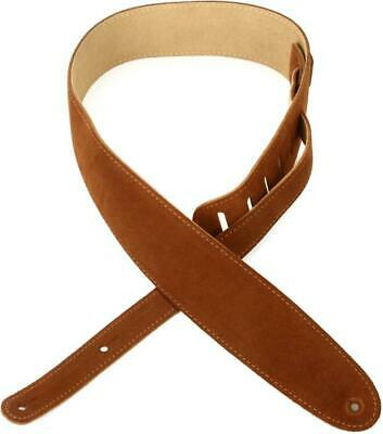 """Planet Waves 25RVP01-DX 2.5/"""" Deluxe Reversible Super Suede Strap Brown//Black"""