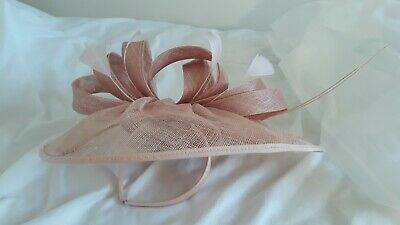 Phase Eight Dusky Pink Fascinator