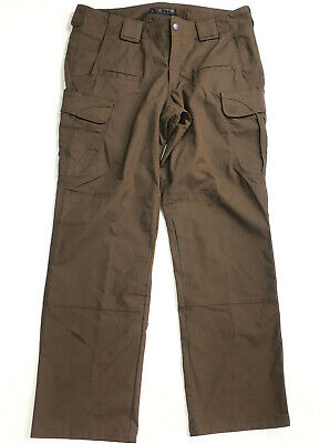 5.11 Womens size 14 Tactical  Pants Cargo Dark Brown Workwear New