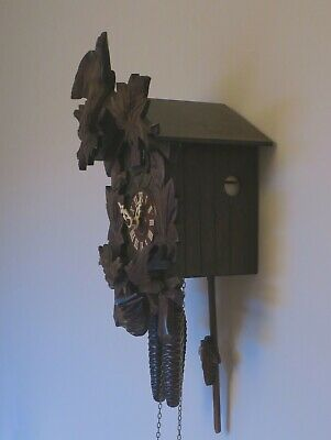 German Black Forest Cuckoo Clock with one day movement