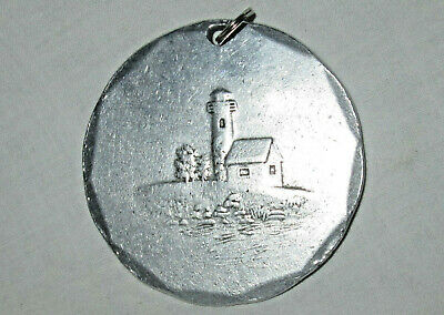 Pendant Wendell August USA  Collectible vintage or antique Barn Silo