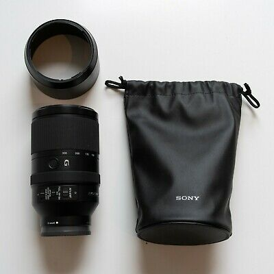 Sony 70-300mm F/4.5-5.6 FE G OSS lens Royal Mail Special Delivery
