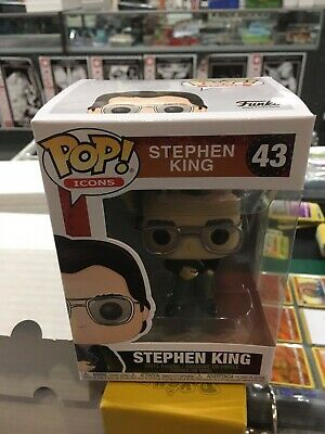 Pop Icons Stephen King Vin Fig  Funko    2/19